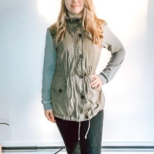 Forever 21 Green Military Jacket